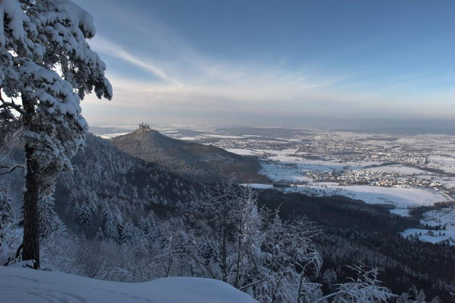 Hohenzollern Castle, Germany - Winter