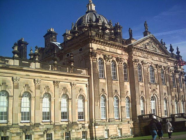 Castle Howard, England - Beautiful design of the castle