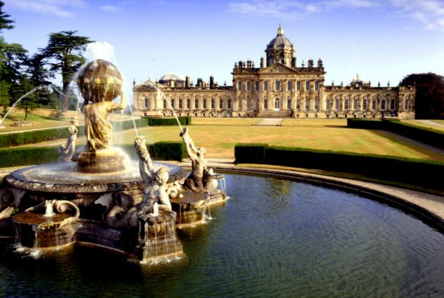 Castle Howard, England - Beautiful view of the castle