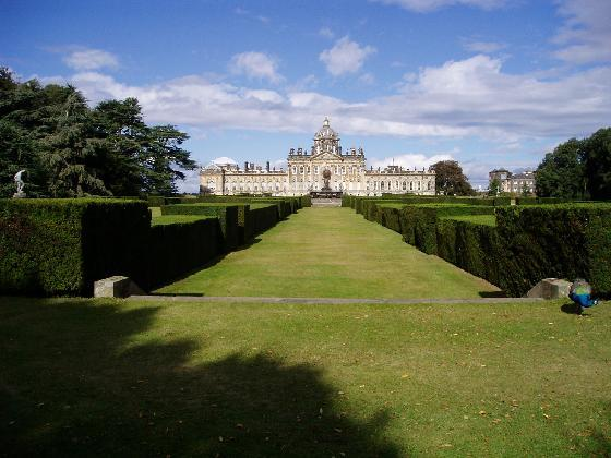 Castle Howard, England - General view of the castle