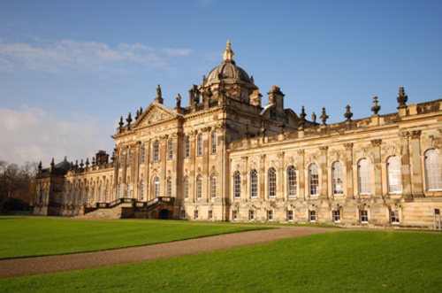 Castle Howard, England - Great view of the castle