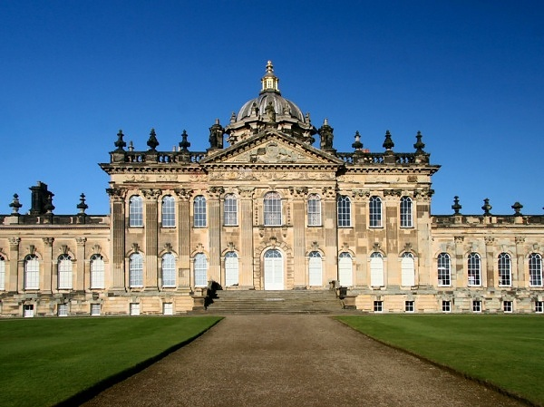 Castle Howard, England - Magnificent facade