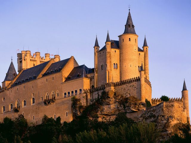 Segovia Castle, Spain - General view of the castle