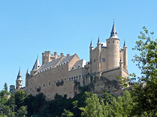 Segovia Castle, Spain - View of the castle