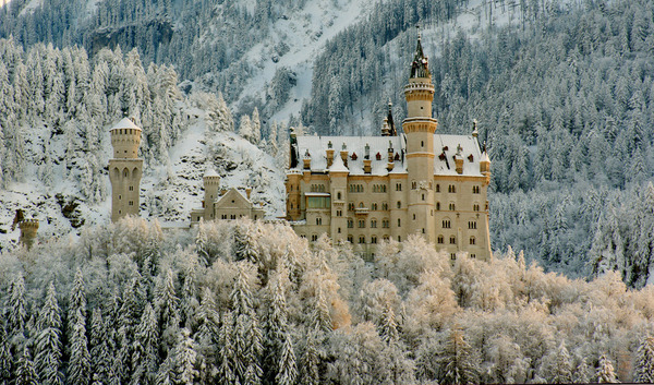 "Neuschwanstein Castle, Germany - ""Fairytale castle"""