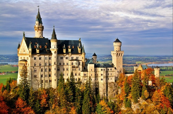 Neuschwanstein Castle, Germany - Dream setting