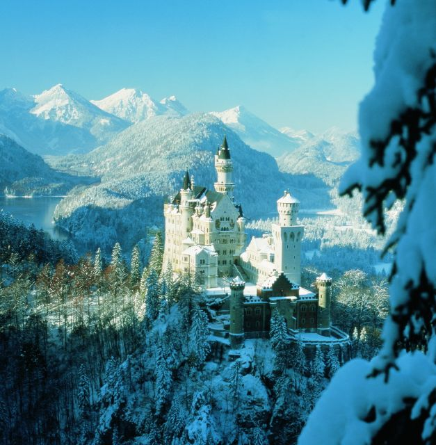 Neuschwanstein Castle, Germany - Wintertime