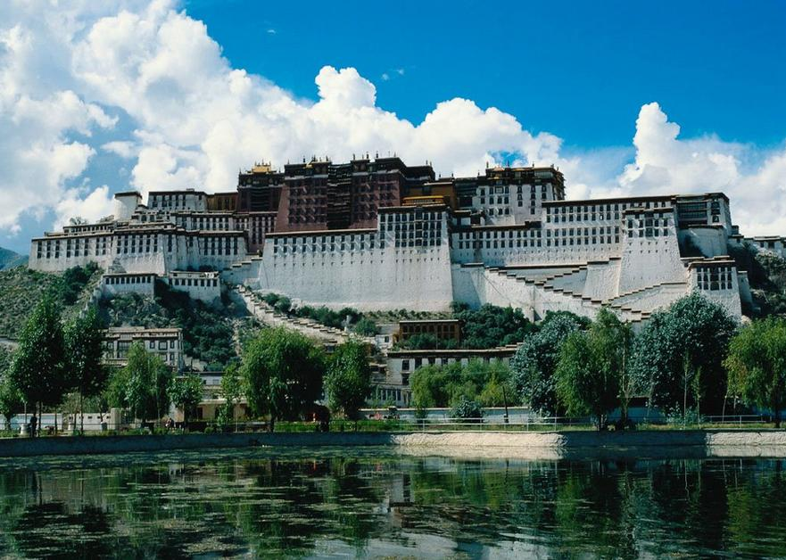 The Potala Palace, Tibet - General view of the palace