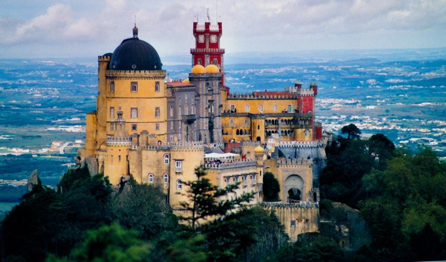 Palacio da Pena, Portugal - General view of the castle