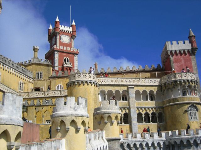 Palacio da Pena, Portugal - The towers of the castle