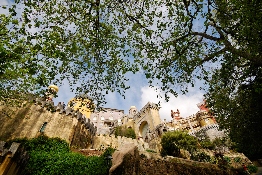 Palacio da Pena, Portugal - View from the garden