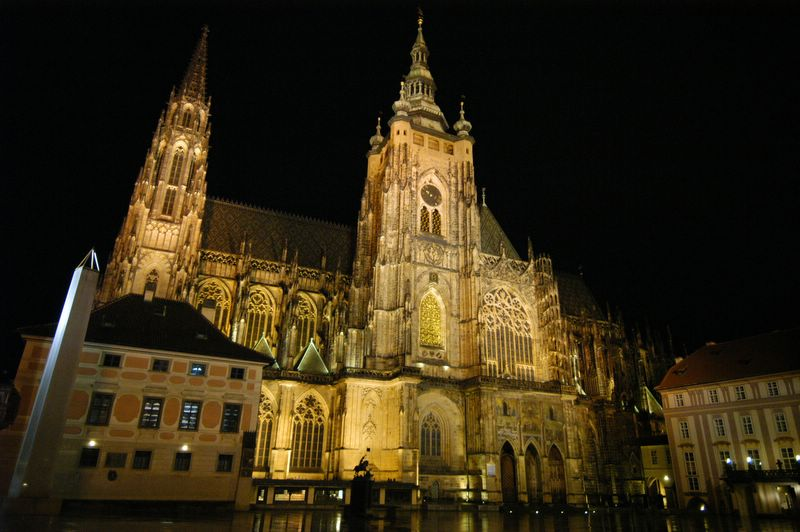 Prague Castle, Czech Republic - Majestic facade