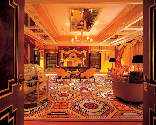 Burj Al Arab in Dubai, the United Arab Emirates - Royal Suite