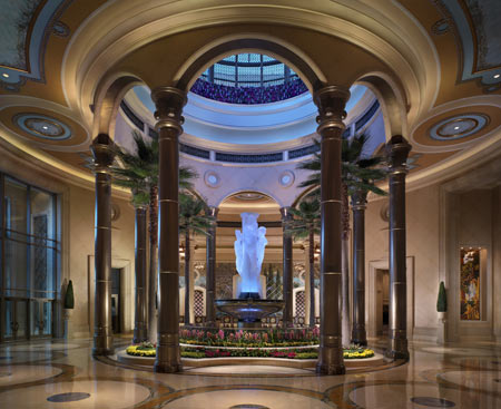 The Palazzo Resort in Las Vegas, USA - Inside view