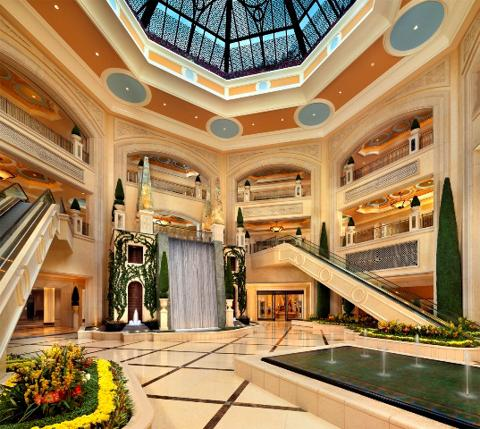 The Palazzo Resort in Las Vegas, USA - Interior view