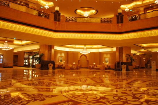 Foyer In Hotel : Emirates palace hotel in abu dhabi united arab