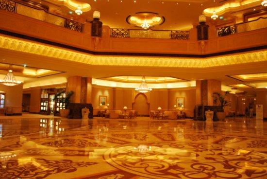 Foyer Decor Abu Dhabi : Emirates palace hotel in abu dhabi united arab