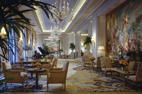 Hotel Four Seasons George V in Paris, France - Luxurious and unique design