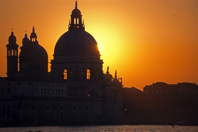 Venice in Italy - Beautiful sunset