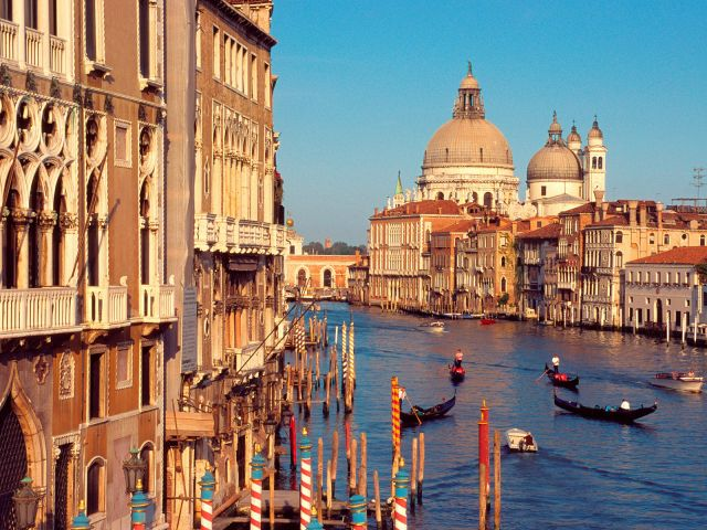 Venice in Italy - Grand Channel