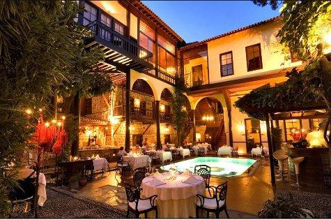 Alp Pasa Boutique Hotel  - Beautiful outdoor spaces