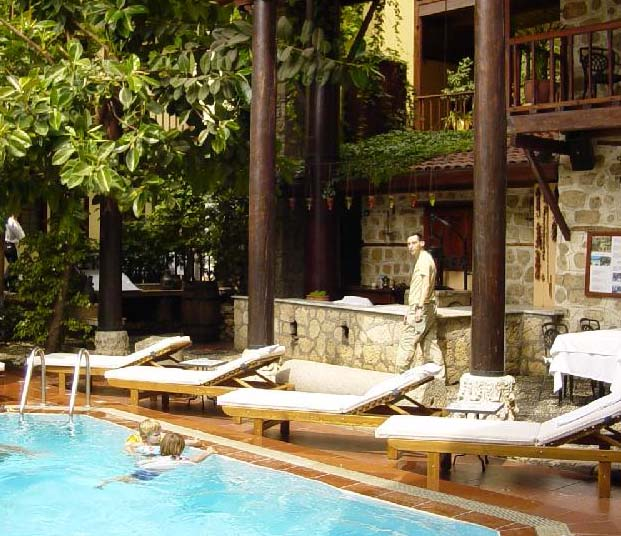 Alp Pasa Boutique Hotel  - Swimming pool