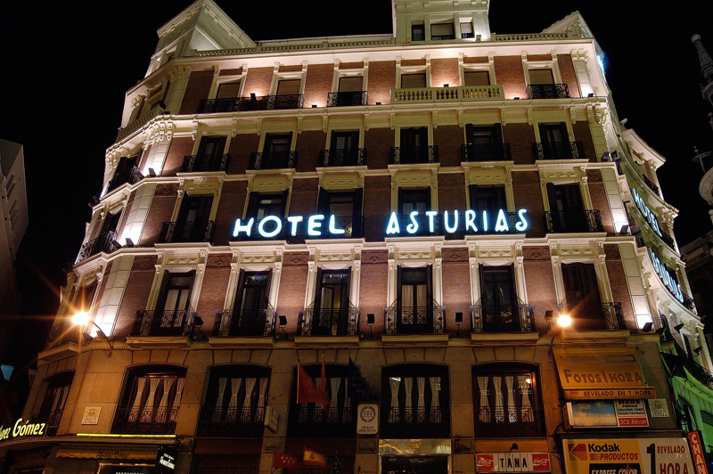 Hotel Asturias - External view of the hotel