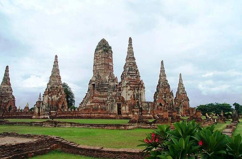 Ayutthaya in Thailand - General view