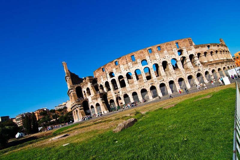 Colosseum in Italy - Colosseum view