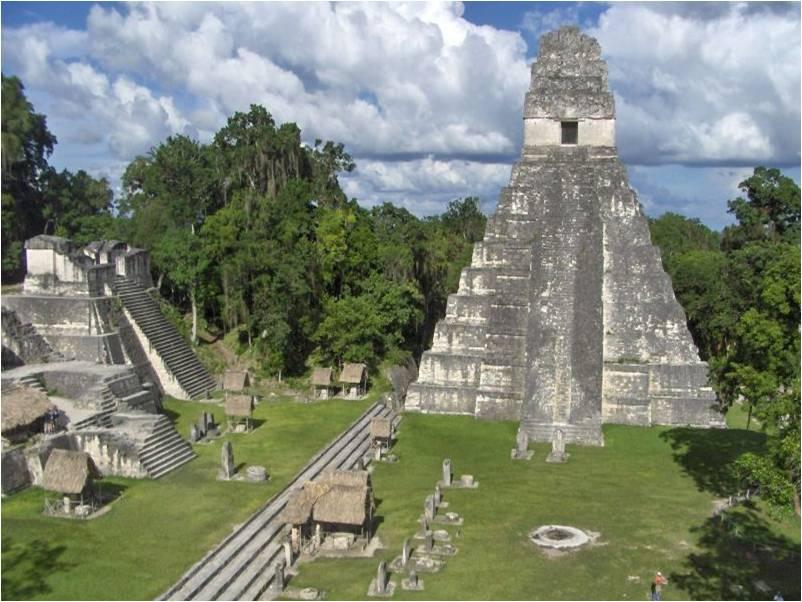 Tikal Ruins in Guatemala Tikal in Guatemala Tikal