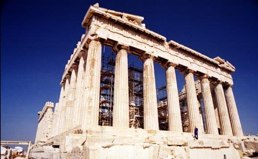 Parthenon in Athens, Greece - Ancient ruins