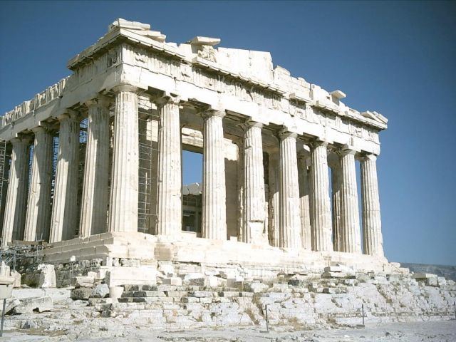Parthenon in Athens, Greece - Parthenon ruins