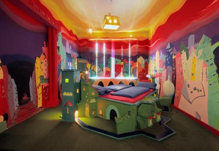 propeller island city lodge in berlin the craziest hotels in the world. Black Bedroom Furniture Sets. Home Design Ideas