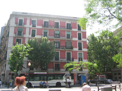 Pension Iniesta - External view of the hotel