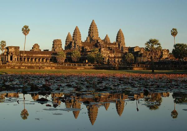 Angkor Wat in Cambodia - General view