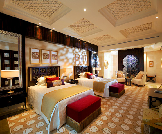 The raffles hotel dubai the best hotels in dubai united for Best suites in dubai