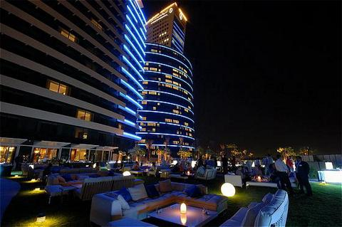 Crowne Plaza Hotel Dubai-Festival City - Comfortable outdoor spaces
