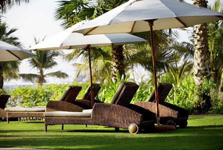 The Ritz-Carlton, Dubai - Outdoor spaces