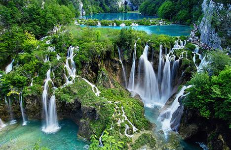 Plitvice Lakes in Croatia - Breathtaking scenery