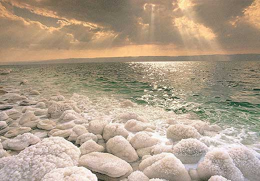 Dead Sea  - Beautiful sunset