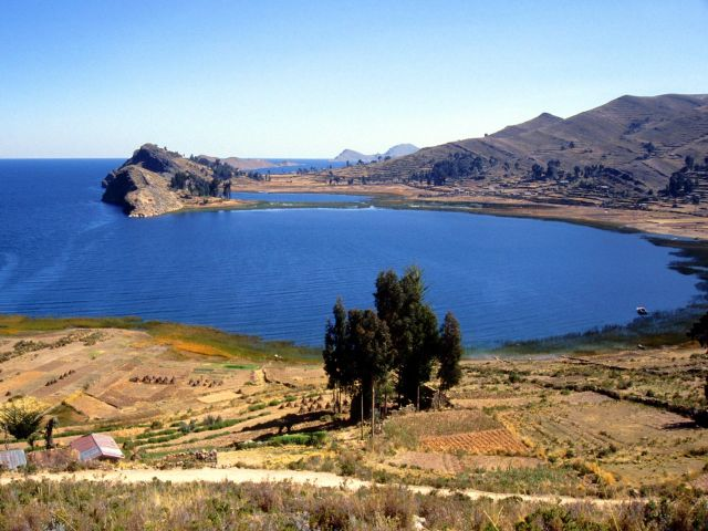 Lake Titicaca in Peru - Excellent vistas