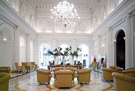 Boscolo hotel exedra roma the best hotels in rome for Design hotel roma