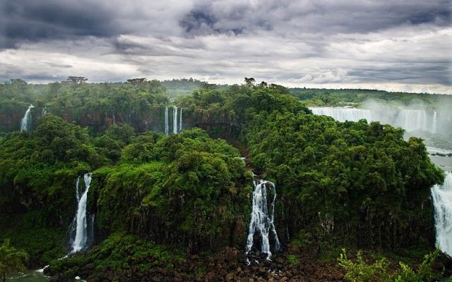 Iguazu Falls in Argentina/Brazil - Beautiful waterfall