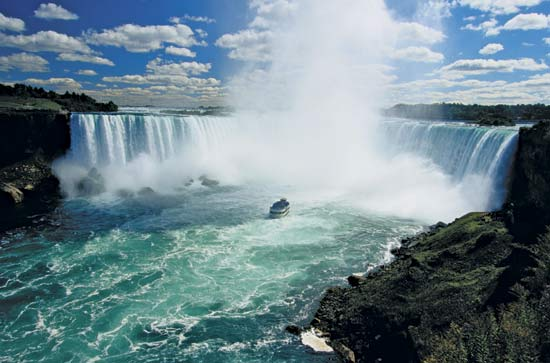 Niagara Falls in USA - Amazing scenery