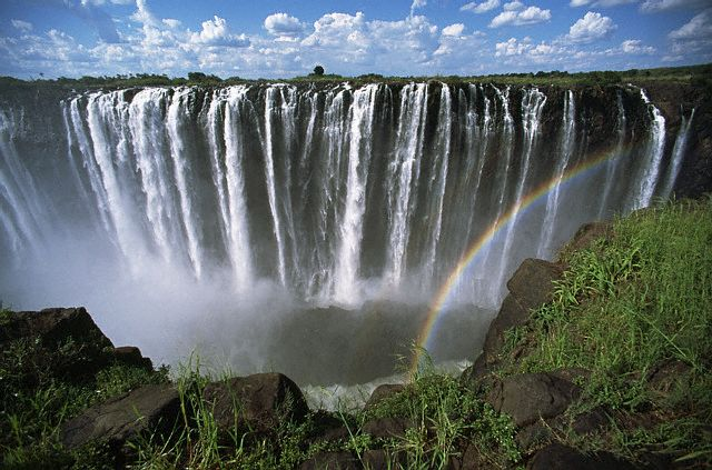 Victoria Falls in Zimbabwe - Excellent views