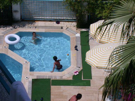 Palm Can Hotel - Outdoor swimming pool