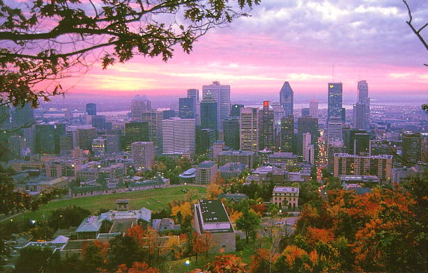Montreal in Canada - Skyline