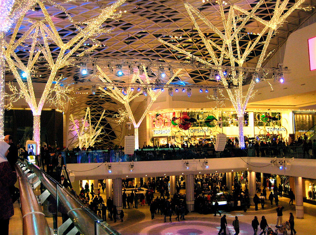 London - Westfield Shopping Centre