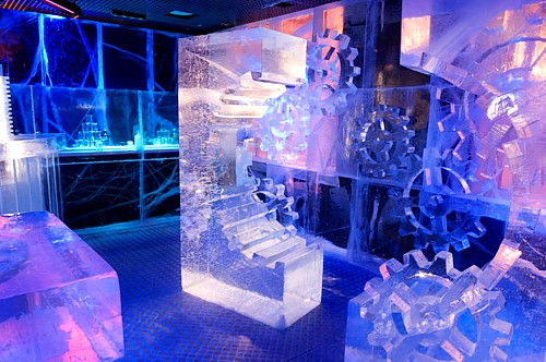 Ice Bar in London - General view