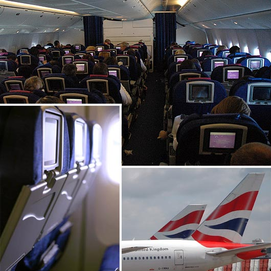 British Airways - Interior view
